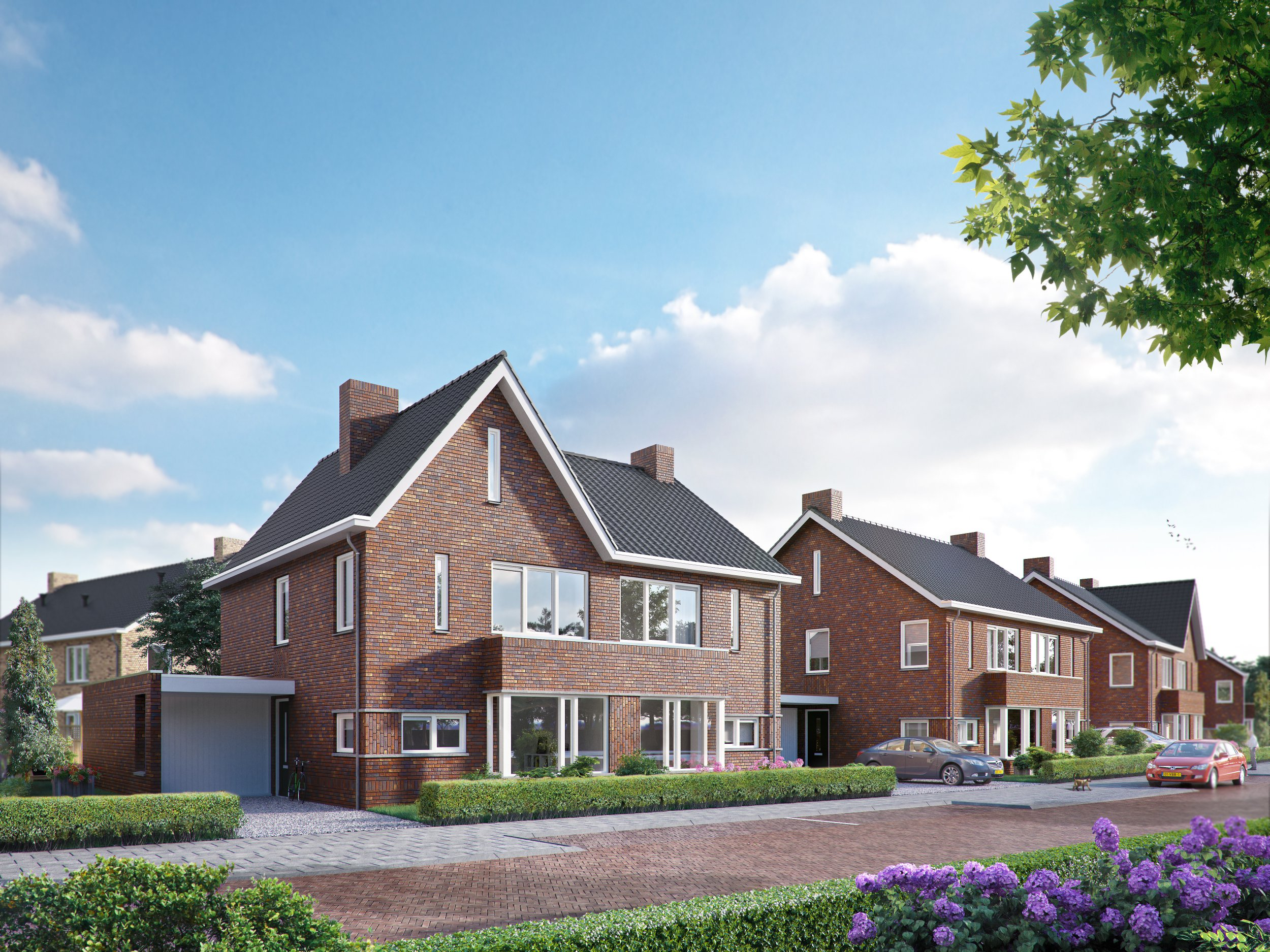 Start verkoop woningen De Grote Boel, Oosterhout - Nijmegen