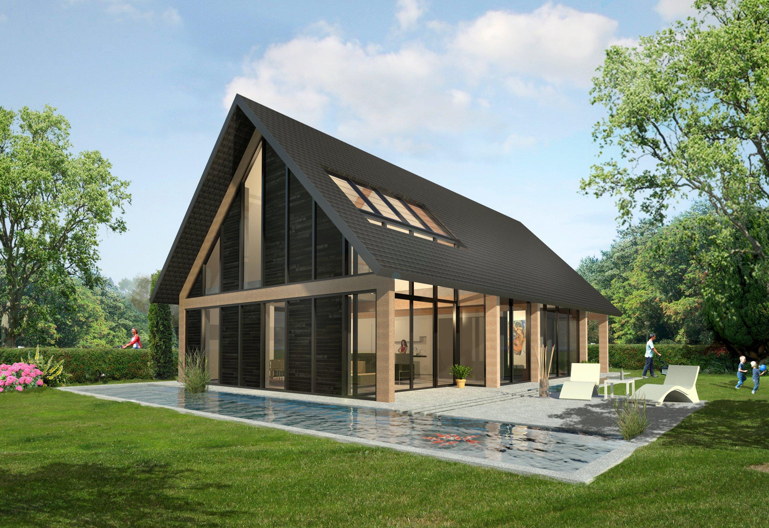 Schuurwoning projecten palazzo b v - Meer mooie houten huizen ...